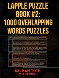 Lapple Puzzle Book #2: 1000 Overlapping Words Puzzles