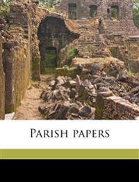 Parish papers