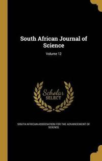 SOUTH AFRICAN JOURNAL OF SCIEN