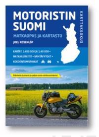 Motoristin Suomi 2018 1:400 000/1:40 000/1:800 000/1:600 000