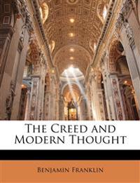 The Creed and Modern Thought