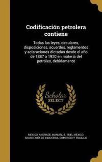 SPA-CODIFICACION PETROLERA CON