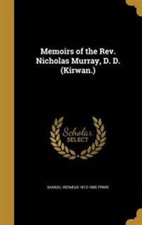MEMOIRS OF THE REV NICHOLAS MU