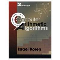 Computer Arithmetic Algorithms