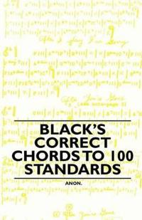 Black's Correct Chords to 100 Standards