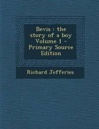 Bevis: The Story of a Boy Volume 1 - Primary Source Edition