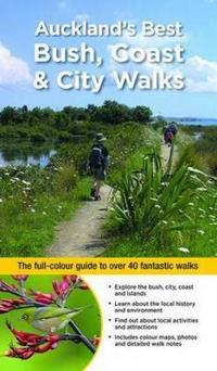 6-copy counterpack - auckland walks - the full-colour guide to over 40 fant