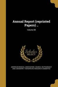ANNUAL REPORT (REPRINTED PAPER