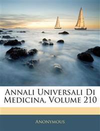 Annali Universali Di Medicina, Volume 210