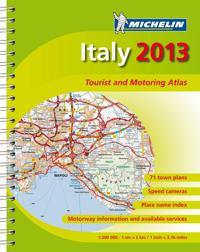 Italien 2013 Atlas Michelin A4