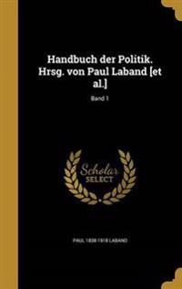 GER-HANDBUCH DER POLITIK HRSG
