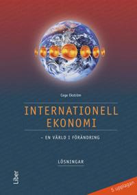 Internationell ekonomi Lösningar