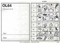 OL64. Ordleseprøve 64 ord. 5 stk. -  pdf epub