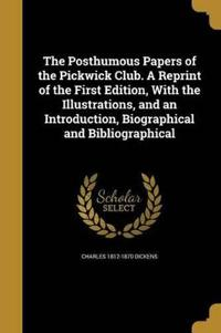 POSTHUMOUS PAPERS OF THE PICKW
