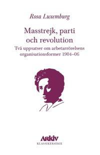 Masstrejk, parti och revolution : Två uppsatser om arbetarrörelsens organisationsformer 1904–06