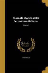 ITA-GIORNALE STORICO DELLA LET