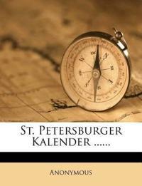 St. Petersburger Kalender ......