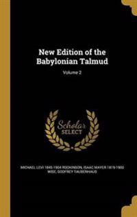 NEW /E OF THE BABYLONIAN TALMU