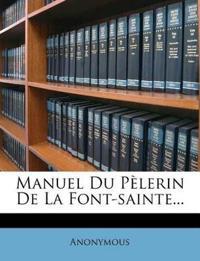 Manuel Du Pèlerin De La Font-sainte...