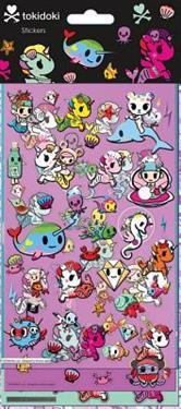 Tokidoki Mermicorno Stickers