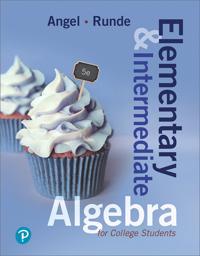 Elementary & Intermediate Algebra for College Students
