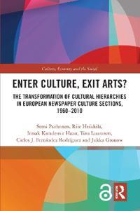 Enter Culture, Exit Arts?