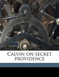 Calvin on secret providence