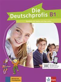 Die Deutschprofis B1. Kursbuch mit Online-Hörmaterial