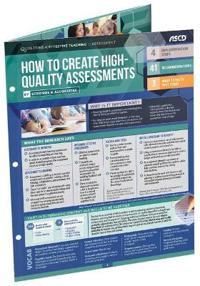 How to Create High-Quality Assessments (Quick Reference Guide 25-Pack)