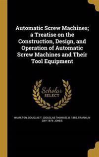 AUTOMATIC SCREW MACHINES A TRE