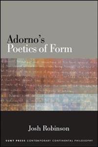 Adorno's Poetics of Form
