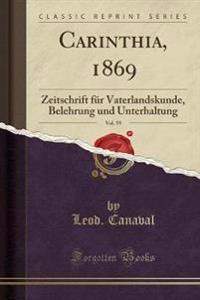 Carinthia, 1869, Vol. 59