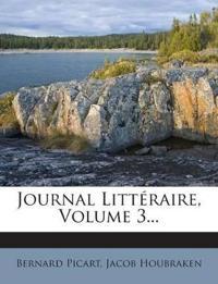 Journal Littéraire, Volume 3...