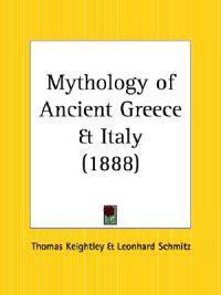 Mythology of Ancient Greece & Italy 1888