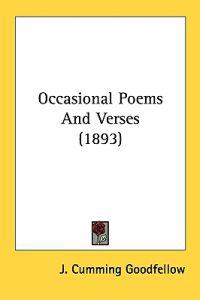 Occasional Poems and Verses