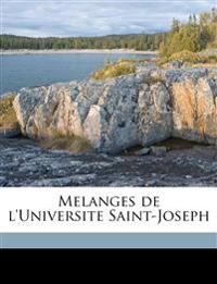 Melanges de l'Universite Saint-Joseph Volume 6
