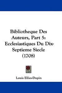 Bibliotheque Des Auteurs