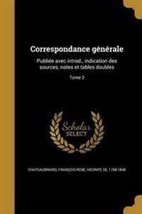 FRE-CORRESPONDANCE GENERALE