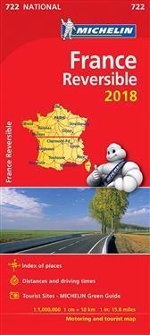 France - reversible 2018 National Map 722
