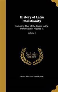 HIST OF LATIN CHRISTIANITY