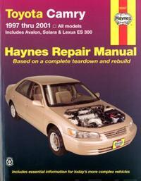 Toyota Camry and Lexus Es 300 Automotive Repair Manual