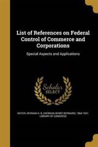 LIST OF REFERENCES ON FEDERAL