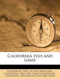 California fish and game