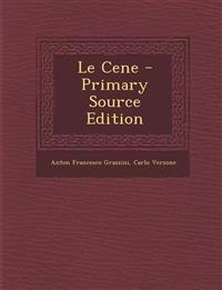 Le Cene - Primary Source Edition