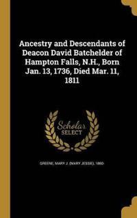 ANCESTRY & DESCENDANTS OF DEAC