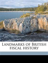 Landmarks of British fiscal history