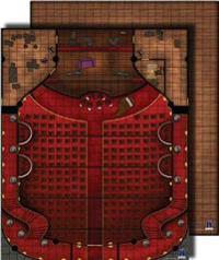 Gamemastery Flip-mat: Theater