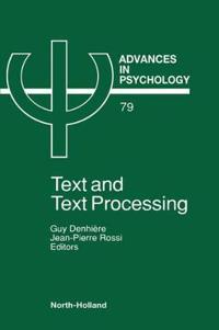 Advances in Psychology V79