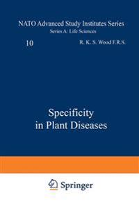 Specificity in Plant Diseases