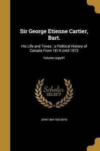 SIR GEORGE ETIENNE CARTIER BAR